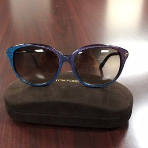 Tom Ford Karmen TF 329 83F 57 16140 purple eyewear